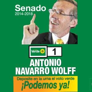 Campaña al Senado / Antonio Navarro Wolff