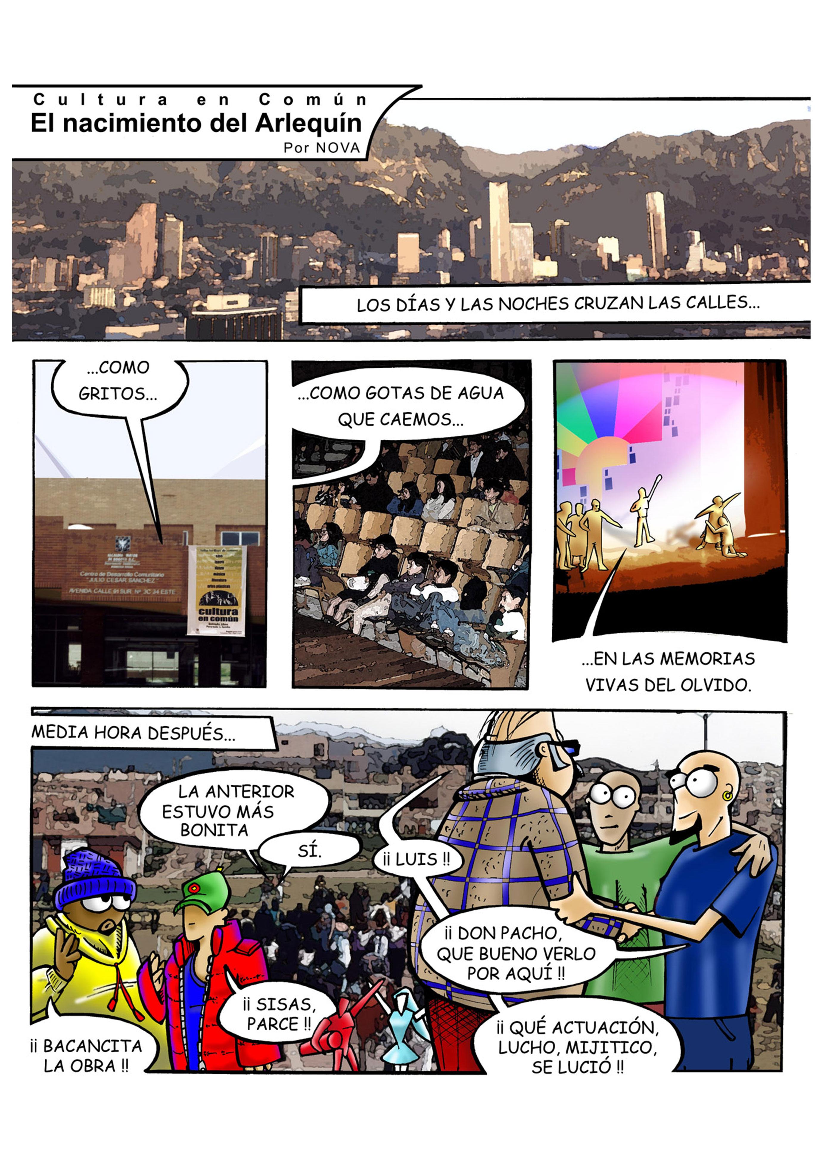 El nacimiento del Arlequín